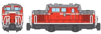 ↑ DD51形ディーゼル機関車・標準色