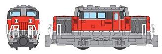 ↑ DD51形ディーゼル機関車・貨物更新色