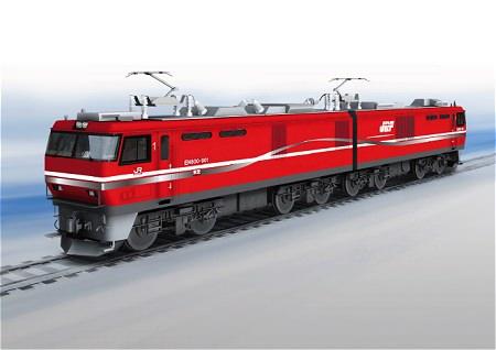 ↑ EH800形式901号機