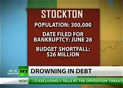 ストックトン市破綻