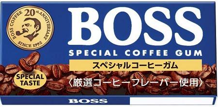 ↑ BOSSスペシャルコーヒーガム