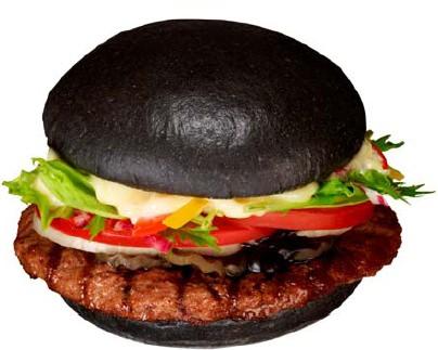 ↑ 黒バーガー(Premium KURO Burger)