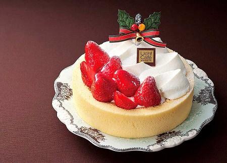 ↑ 苺のクリスマスロール 5号