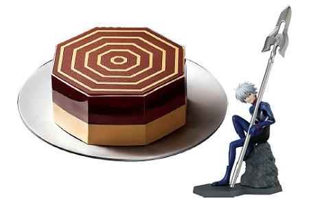 ↑ EVANGELION Cake-AT フィールドケーキ&渚カヲル- 4号