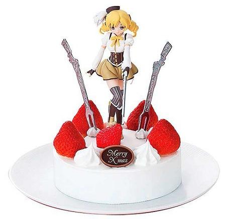 ↑ 魔法少女まどか☆マギカ『もう何も恐くない』ケーキ