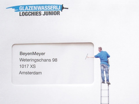 ↑ Logchies Junior Window Cleaners: Envelopes