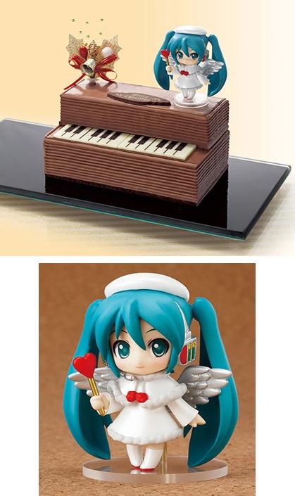 ↑ 初音ミク クリスマス♪ピアノケーキ