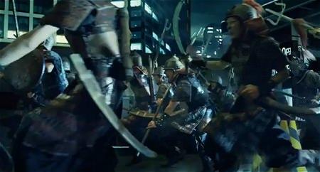 ↑ 『大戦乱!!三国志バトル』のCMとメイキング映像。いずれも公式による配信。