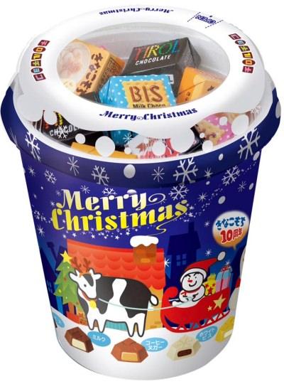 ↑ クリスマスチョコレート