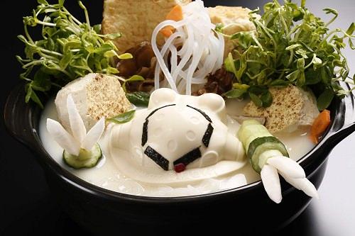 ↑ レシピ例。ズゴック豆乳鍋(北極戦線)