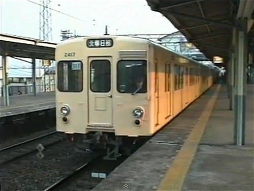 ↑ 東武2000系実車両。