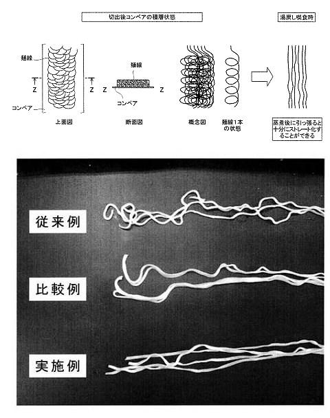 ↑ 特許情報の公開図面と事例写真