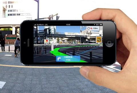 ↑ MapFan eye。公式プロモーション映像。