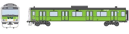 ↑ E231系のラッピングトレインイメージ