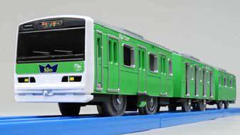 ↑ ぼくもだいすき!たのしい列車シリーズ E231系みどりの山手線(仮称)