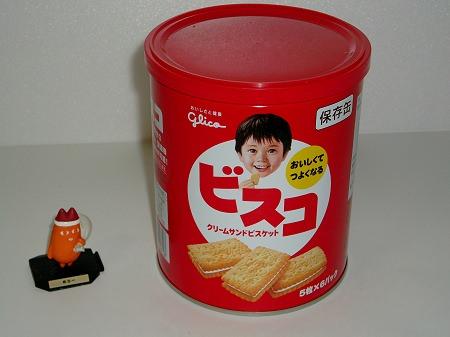 ↑ ビスコ保存缶
