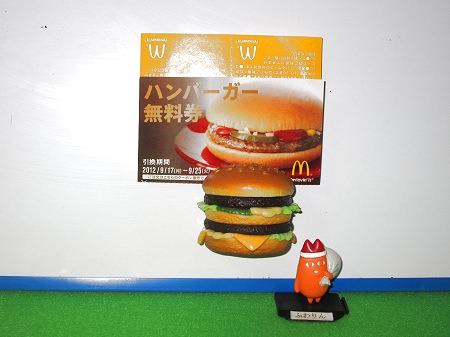 ↑ ハンバーガーやホットアップルパイは写真・メモ立てとして使える