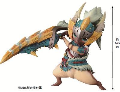 ↑ A賞 ジンオウネコシリーズオトモアイルーフィギュア
