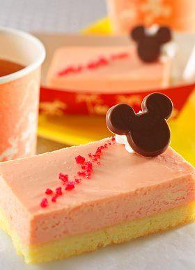 ↑ ストロベリーチーズケーキ