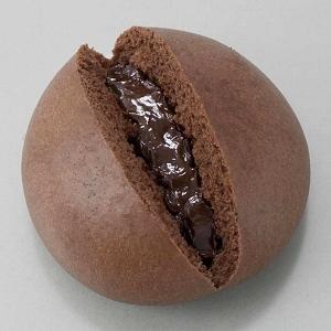 ↑ カカオ香る濃厚チョコまん