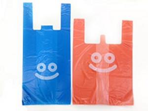 ↑ スライム・レジ袋(左)とスライムベス・レジ袋(右)