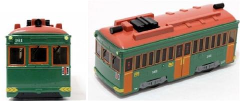 ↑ 阪堺電車モ161形 オリジナルサウンドトレイン