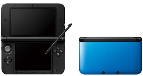 ↑ 3DS LL ブルー×ブラック