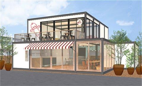 ↑ キユーピー3分クッキング 南青山三丁目キッチン・店舗外観イメージ