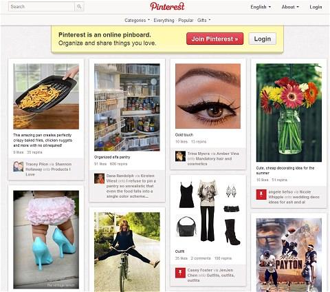 ↑ Pinterest