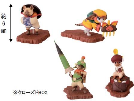 ↑ K賞:カードスタンドフィギュア(全4種)