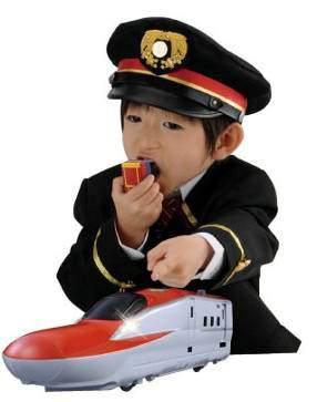 ↑ マイクであそぼう!ビッグプラレールBS-02 E6系新幹線(制服などはついていない)