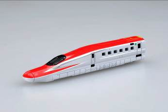 ↑ トミカ(ロングタイプ)No.123 E6系新幹線