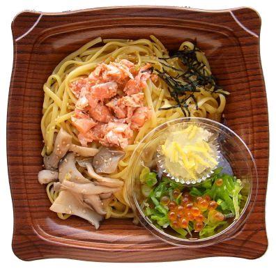 ↑ 生パスタ 銀鮭・いくら・柚子醤油