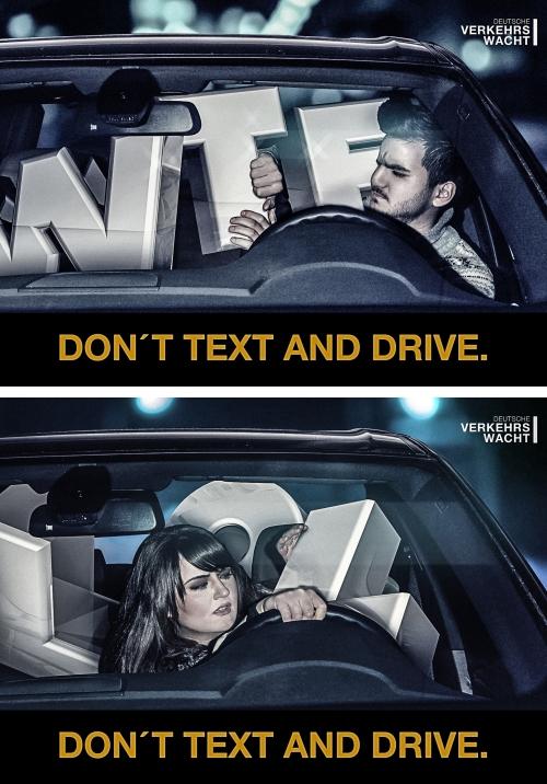 ↑ それぞれ「WTF」「LOL」が運転手の運転を大いに邪魔している
