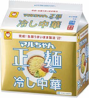 ↑ マルちゃん正麺 冷し中華