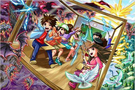 ↑ 「魔法体験!マジカル学園」イメージ