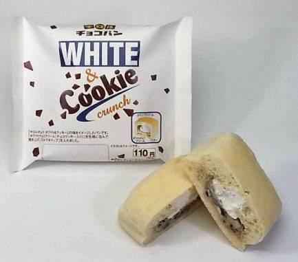 ↑ ホワイト&クッキー
