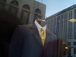 デパート紳士服売り場