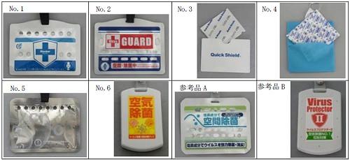 ↑ テスト対象となった8商品