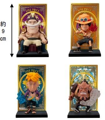 ↑ 白ひげ海賊団カードスタンドフィギュア