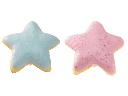 ↑ カルピススタードーナツ ソーダ(左)/ストロベリー(右)
