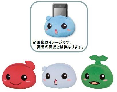 ↑ B賞:ぬいぐるみ携帯スタンド(全3種)