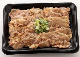 ↑ ねぎ塩牛カルビ弁当