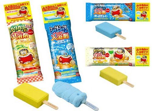 ↑ ガリガリ君入浴剤Cooling