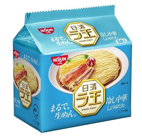 ↑ 日清ラ王 冷やし中華 5食パック
