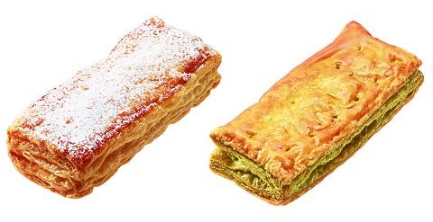 ↑ スティックパイ アップル(左)と同抹茶あずき(右)