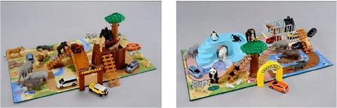 ↑ 「ドキドキサファリパーク」と「ワクワク動物園」