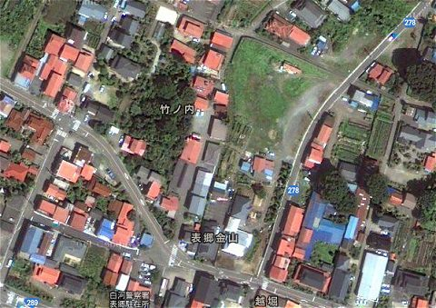 ↑ 吉野家ファーム福島の所在地を検索した結果の場所