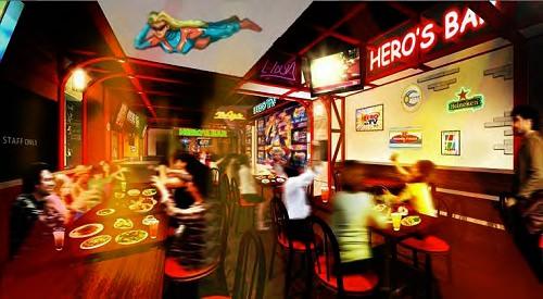 ↑ カフェ&バー CHARACRO(キャラクロ)イメージ画像(TIGER & BUNNY(タイガー&バニー))