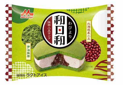 ↑ 和日和-わびより- 抹茶小豆サンド